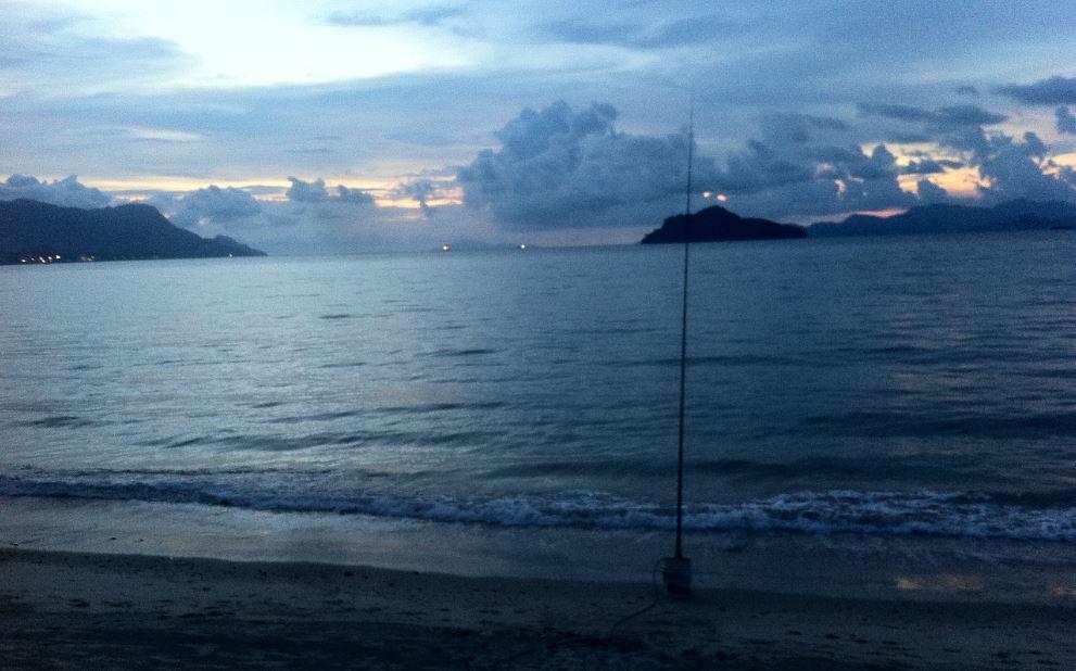 Langkawi_ham-sunset